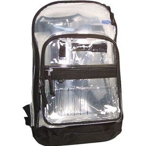"""Staples Brand """"Extreme"""" Clear Backpack 🎒"""
